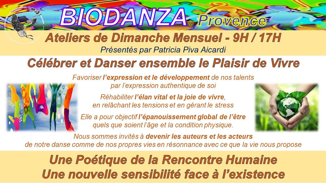Atelier de biodanza par Biodanza-Provence