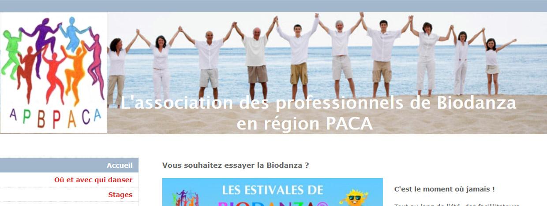 apbpaca.com association professionnelle biodanza en paca