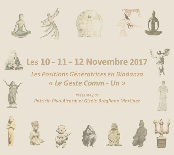 Les Positions Génératrices en Biodanza